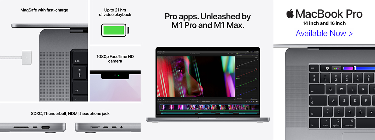 MacBook Pro with Touch Bar and Touch Id 13 inch and 16 inch New