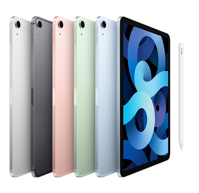 iPad air 10.5-inch Space Grey, Silver, Gold and Rose GOld